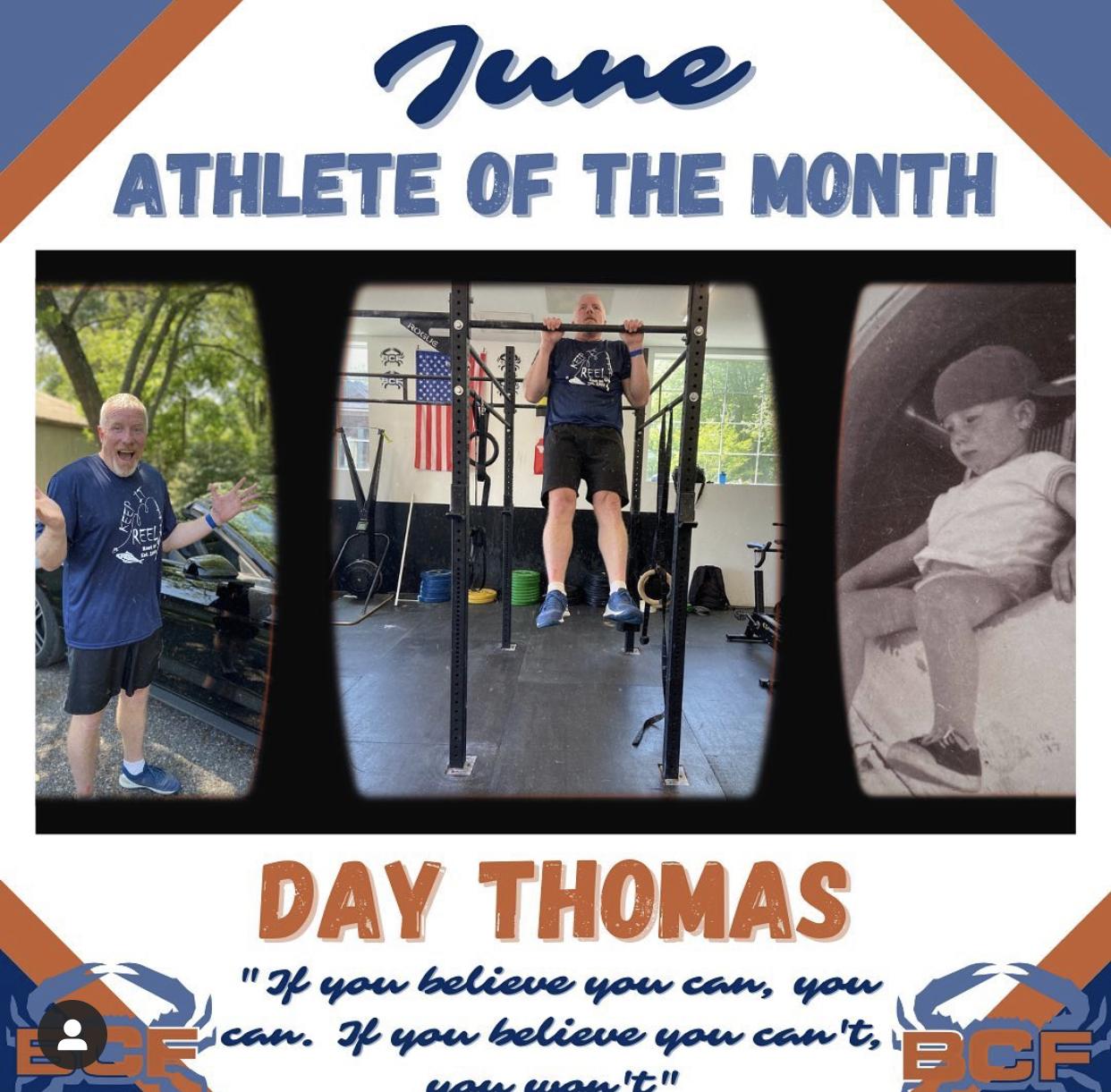 Day Thomass success story
